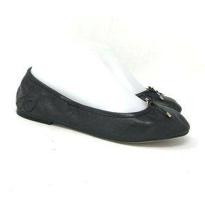 Sam Edelman Womens Black Ballet Flat Shoes Size 7